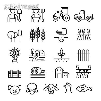Icon set - Farm