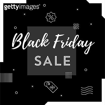 Black Friday Sale Web Banner