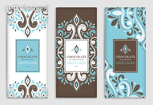 Packaging design of chocolate bars