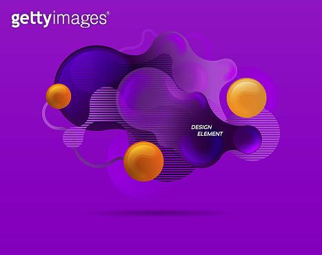 Modern graphic element