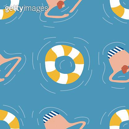 Swimming pattern