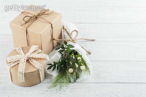 기념일, 선물, 꽃다발