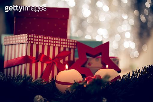 Warm holiday decoration