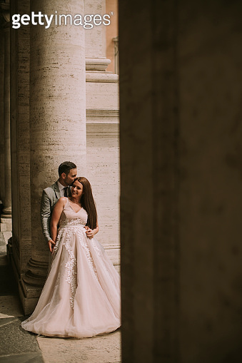 Married couple in Rome
