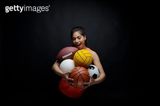 Cute female, sports