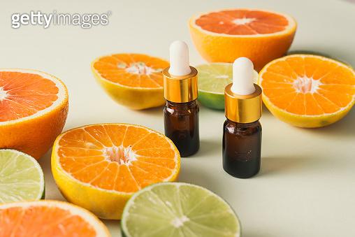 Orange aroma oil for aromatherapy