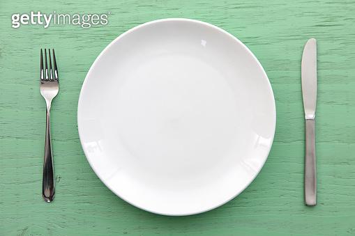 Empty dish