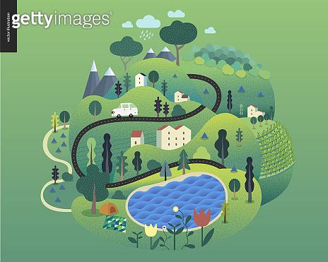자연과 풍경