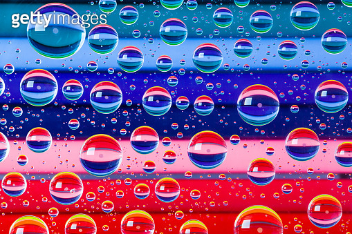 Abstract background with drops