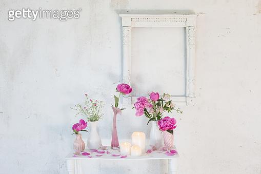 flower, white background