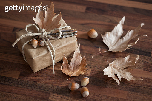 Autumn Handicraft gift box