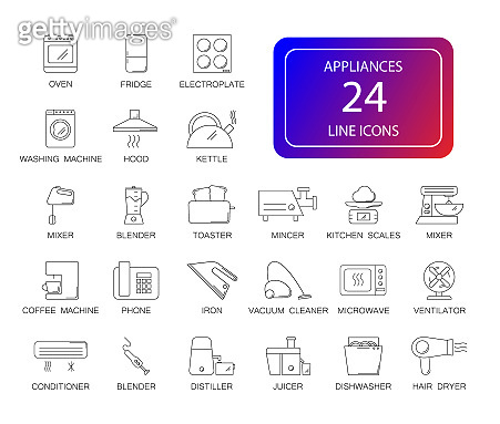 Line icon - life style