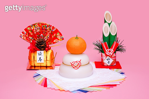 Japanese new year object.