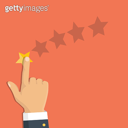 Gold rating star