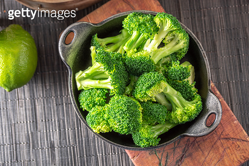 Steam Cooked Broccoli