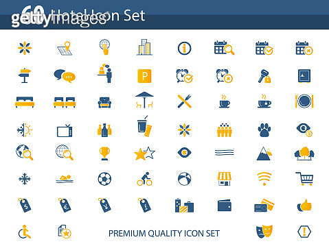 Set of 60 icons