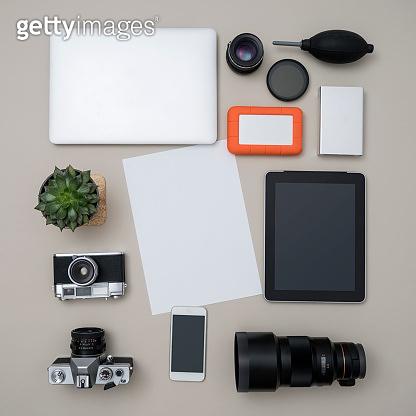 Photographer's equipments