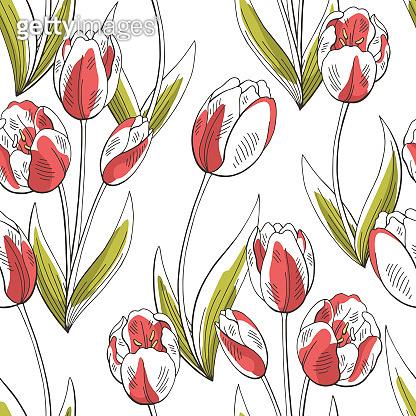 Flower graphic pattern
