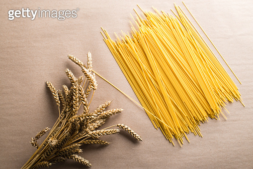 pasta and wheat