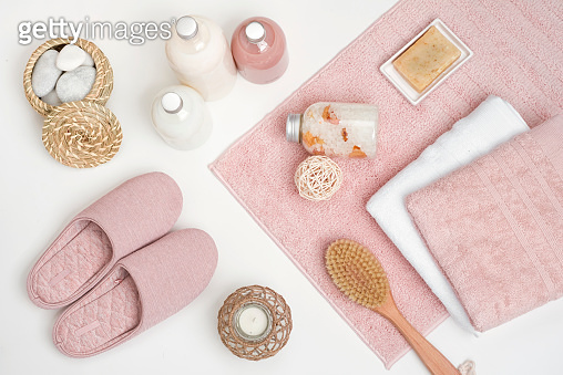 Beauty and spa composition