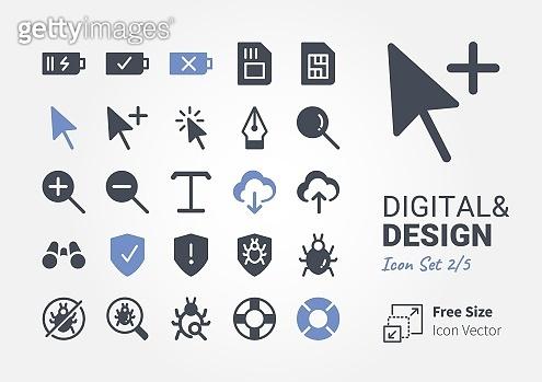 Icon set - Digital