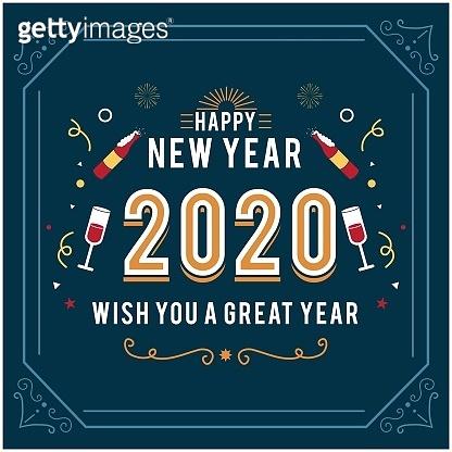 2020 greeting card