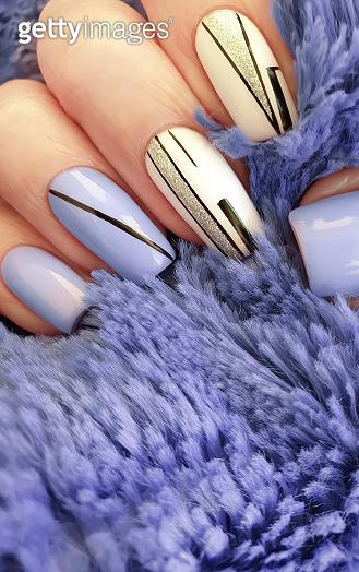 Female hand nails