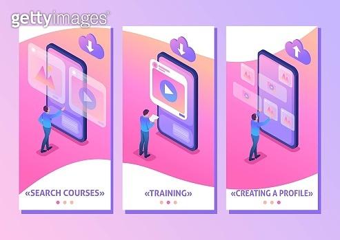 Isometric app template