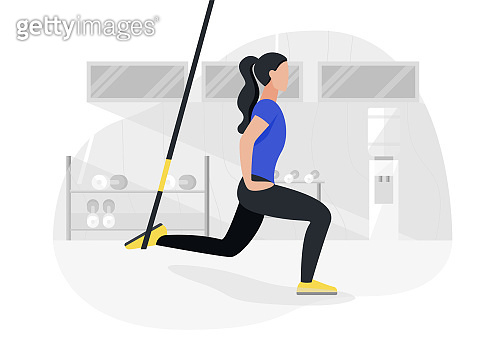 Fitness strength training workout
