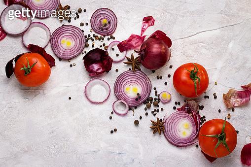 Assortment Fresh organic vegetables