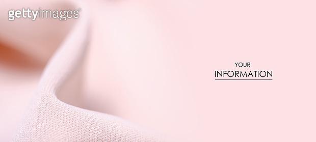 Peach pink fabric textile