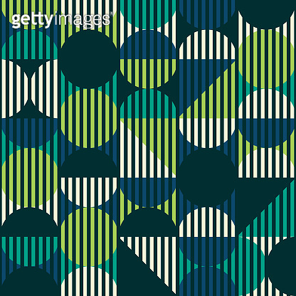 Abstract geometric vector pattern