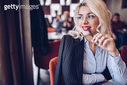 Beautiful modern female