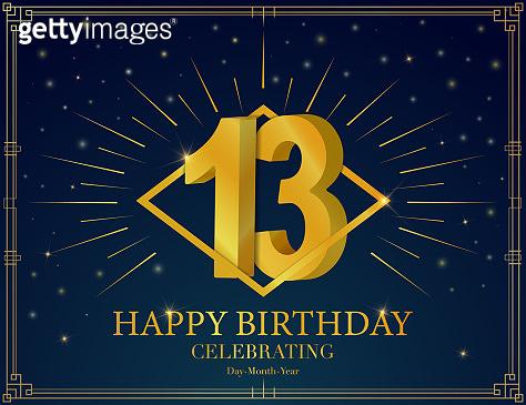 Anniversary celebration greeting card