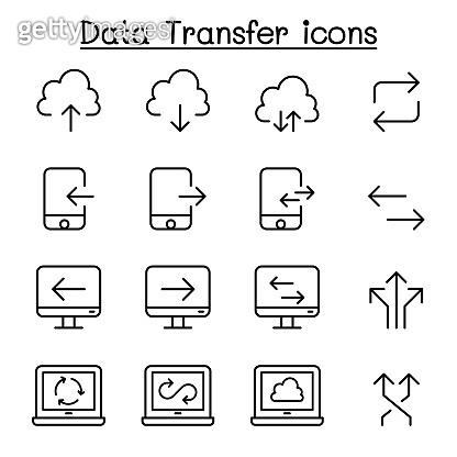Set of 16 Line icon