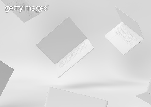 white background 3d