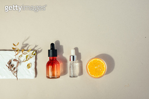 Skin beauty health care concept