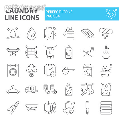 Line icon set - Lifestyle