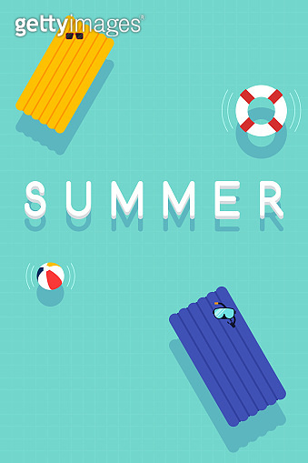 여름 휴가 포스터