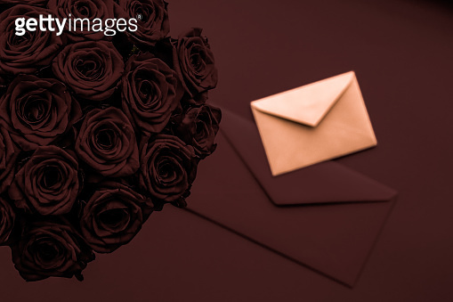 Business card and letter