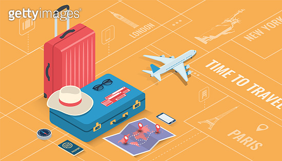 Travel concept illustration