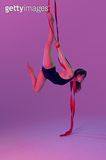Performing an acrobatic