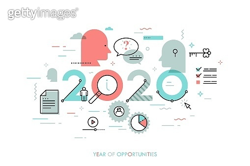 Infographic concept 2020