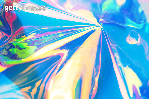 Neon holographic background