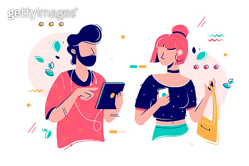 People characters illustration