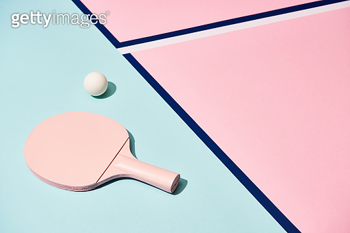 Colorful sports court