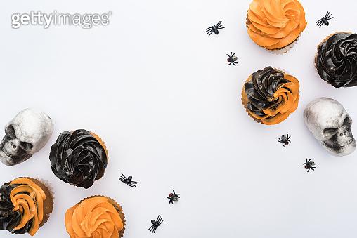 Tasty Halloween cupcake
