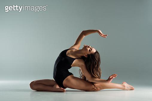Attractive dancer