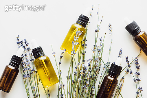 Bottles with natural serum