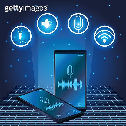 Smartphone voice recognition speaker